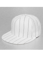 Cap Crony Hip hop -lippikset Pin Striped valkoinen