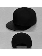 Cap Crony Snapback Cap Acrylic Vinyl schwarz