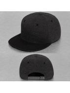 Cap Crony Snapback Caps Melton Crown harmaa