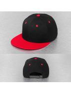 Cap Crony Snapback Caps Two Tone Flat Bill musta