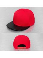 Cap Crony Snapback Caps Acrylic Vinyl punainen