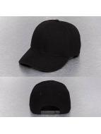 Cap Crony Snapback Curved Bill noir