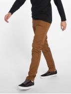 Carhartt WIP Брюки-1 Lamar Super Slim Fit Sid Chino коричневый