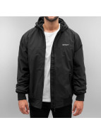 Carhartt WIP Демисезонная куртка Supplex Nylon Hooded Sail черный