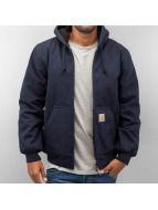 Carhartt WIP Зимняя куртка Dearborn Canvas Active синий