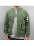 Carhartt WIP Куртка-бомбардир Adams зеленый
