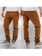 Carhartt WIP Облегающие джинсы Orlando Klondike II коричневый
