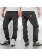 Carhartt WIP Облегающие джинсы Orlando Klondike II серый