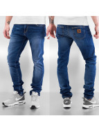 Carhartt WIP Облегающие джинсы Colfax Rebel синий
