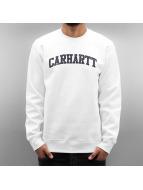 Carhartt WIP Пуловер Yale белый