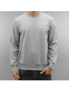 Carhartt WIP Пуловер Script Embroidery серый