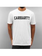Carhartt WIP Футболка College белый