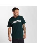 Carhartt WIP Футболка College зеленый