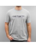 Carhartt WIP Футболка S/S Wip Script серый