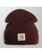 Carhartt WIP Beanie Short Watch röd