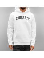 Carhartt WIP Bluzy z kapturem Hooded Yale bialy