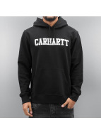 Carhartt WIP Bluzy z kapturem Hooded College czarny