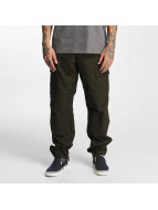 Carhartt WIP Cargohose Columbia Regular Fit grün