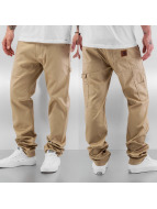 Carhartt WIP Chinot/Kangashousut Lincoln Single beige