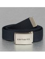 Carhartt WIP Gürtel Clip Belt blau