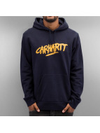 Carhartt WIP Hoodies Hooded Painted Script blå