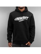 Carhartt WIP Hoody Hooded Painted Script schwarz