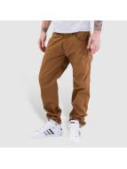 Carhartt WIP Jeans Straight Fit Cortez Slim Fit Skill brun
