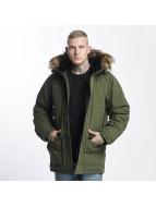 Carhartt WIP Kış ceketleri Trapper yeşil