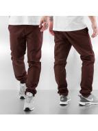 Carhartt WIP Kumaş pantolonlar Lamar Super Slim Fit Sid Chino kahverengi