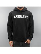 Carhartt WIP Mikiny Hooded College èierna