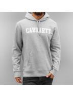 Carhartt WIP Mikiny Hooded College šedá