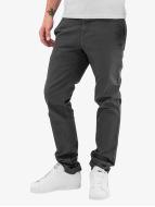 Carhartt WIP Pantalone chino Lamar Slim Fit Sid grigio