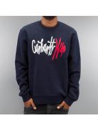 Carhartt WIP Pullover Wavy blau