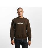 Carhartt WIP Pullover frequenzy braun