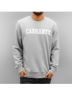 Carhartt WIP Pullover College grau