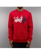 Carhartt WIP Pullover Wavy rouge
