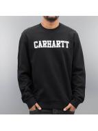 Carhartt WIP Pullover College schwarz