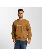 Carhartt WIP Puserot frequenzy ruskea