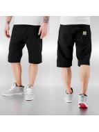 Carhartt WIP Shorts Cortez Slim Fit Skill schwarz