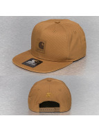 Carhartt WIP Snapback Cap Logo Starter braun