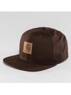 Carhartt WIP Snapback Caps Logo Canvas brun