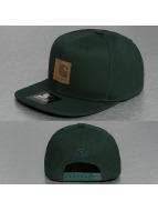 Carhartt WIP Snapback Caps Logo Starter oliivi