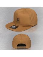 Carhartt WIP Snapback Caps Logo Starter ruskea