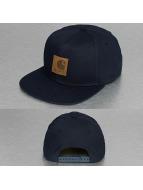 Carhartt WIP Snapback Caps Logo Canvas sininen