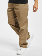 Carhartt WIP Straight Fit Jeans Denison Twill Simple beige