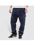 Carhartt WIP Straight Fit Jeans Ruck Double Knee blau