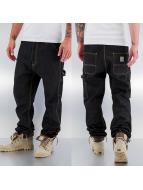 Carhartt WIP Straight Fit Jeans Merced Slim Fit Single Knee II blue