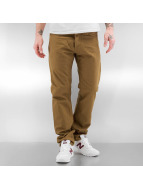 Carhartt WIP Straight Fit Jeans Oakland brown