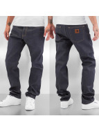 Carhartt WIP Straight Fit Jeans Grafton Davies grau