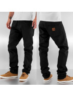 Carhartt WIP Straight Fit Jeans Orlando Tapered Fit Klondike II schwarz